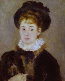 Auguste Renoir, Mademoiselle Henriot von AKG  Images