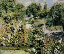A.Renoir, Garten in Fontenay von AKG  Images