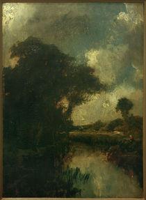 Jules Dupré, Flusslandschaft von AKG  Images