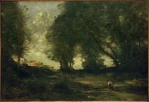 C.Corot, Landschaft / um 1860 von AKG  Images