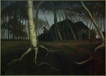 Otto Modersohn, Moordamm / um 1900 von AKG  Images