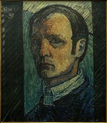 Heinrich Vogeler, Selbstbildnis / 1914 von AKG  Images
