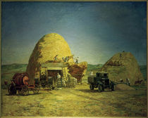 H.Vogeler, Ernte in Kabardino-Balkarien / 1940 von AKG  Images