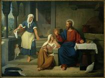 D.C.Blunck, Christus bei Martha und Maria von AKG  Images