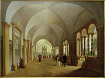 Rom, S.Giovanni in Laterano, Kreuzgang / Gemälde v. D.Martens von AKG  Images