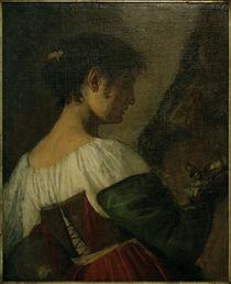 Ch. C.Magnussen, Bildnis einer Italienerin by AKG  Images