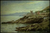 H.Petersen-Flensburg, Küste bei Nervi von AKG  Images