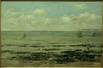 E. Boudin, Die Ebbe (Küste von Finistère) von AKG  Images