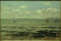 E. Boudin, Die Ebbe (Küste von Finistère) by AKG  Images