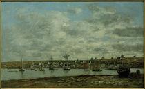 E. Boudin, Hafen von Camaret von AKG  Images