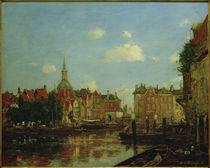 E. Boudin, Ansicht von Dordrecht by AKG  Images