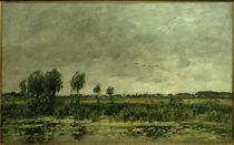 E.Boudin, Moor (Tümpel) bei Honfleur von AKG  Images