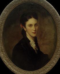 Heinrich v.Liebieg, Ehefrau Karoline / Gem.v. H.v.Angeli by AKG  Images