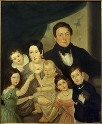 Johann v.Liebieg, Familie / Gem.v. unbekannt, 1842 von AKG  Images