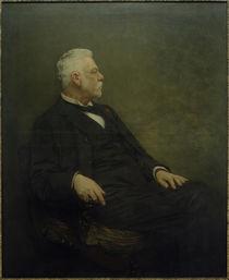 Heinrich v.Liebieg / Gem.v. E.Charlemont, um 1900 by AKG  Images