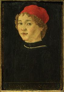 Mstr.d.Porträts v.Amsterdam, Porträt eines jungen Mannes von AKG  Images