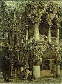 R.v.Alt, Blick auf den Dogenpalast in Venedig von AKG  Images