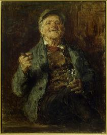 E.K.G.Zimmermann, Trinkender Bauer by AKG  Images