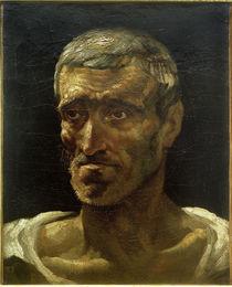 Th.Géricault, Kopf eines Schiffbrüchigen (Studie) by AKG  Images