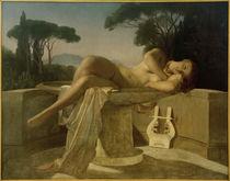 P.Delaroche, Junges Mädchen in einem Wasserbecken von AKG  Images