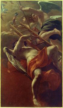 Simon Vouet, Engel mit Werkzeugen der Passion von AKG  Images