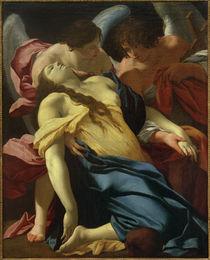 Simon Vouet, Die Ohnmacht der Hl. Maria Magdalena von AKG  Images