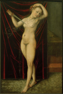 L.Cranach d. Ä., Selbstmord der Lucretia by AKG  Images