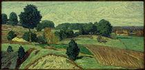 H.Vogeler, Worpsweder Landschaft / 1913 von AKG  Images