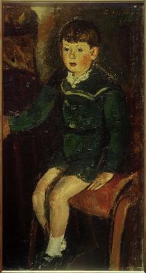 A.Faistauer, Sohn Peter (sitzend) / 1918 von AKG  Images