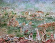 A. Renoir, Strand von Guernsey von AKG  Images