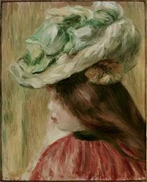 A. Renoir, Fillette au chapeau von AKG  Images