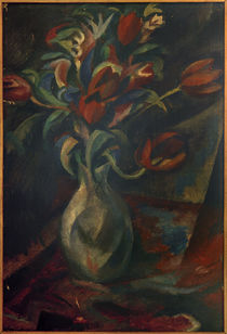 P.A.Seehaus, Tulpen in Vase by AKG  Images