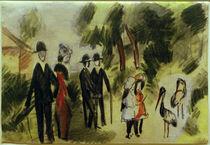A.Macke, Leute bei den Reihern, 1913 von AKG  Images