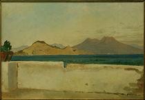 Vesuv / Gemälde von Ernst Meyer von AKG  Images