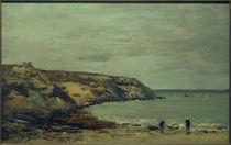 E. Boudin, Rade de Brest. Die Küste von Bindy bei Logonna Daoulas by AKG  Images