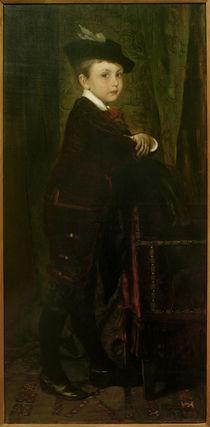 Heinrich v.Liebieg, Sohn Hans / Gem.v. E.Charlemont von AKG  Images
