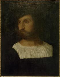 Tizian, Männliches Porträt by AKG  Images