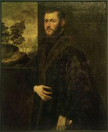 J.Tintoretto, Porträt eines jungen Edelmannes von AKG  Images