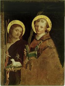P.Grammorseo, Johannes der Täufer und der Hl. Stefan by AKG  Images