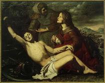 O.Palumbo (zugeschr.), Hl.Sebastian von Hl.Irene gepflegt von AKG  Images