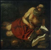 H.van Somer (zugeschr.), Der Hl. Hieronymus beim Schreiben von AKG  Images