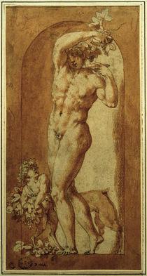 R.Fiorentino, Junger Bacchus in einer Nische von AKG  Images