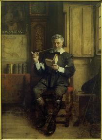 E.Charlemont, Lesender Raucher by AKG  Images
