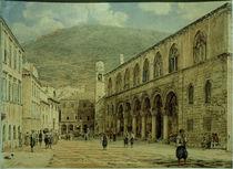J.Alt, Platz in Ragusa (Dubrovnik) von AKG  Images