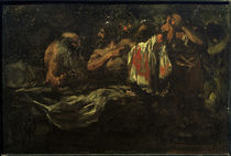 E.L.y Velázquez, Die Söhne Jakobs bringen ihrem Vater das blutige Hemd Josephs von AKG  Images