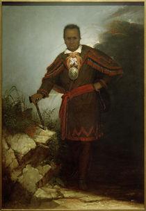 Th.Hicks n.R.W.Weir, Red Jacket (Sagoyewatha) by AKG  Images