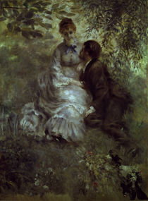 A.Renoir, Die Verliebten / 1875 von AKG  Images
