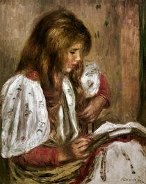 A. Renoir, Mädchen in Weiß