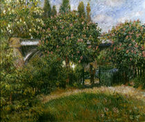 A.Renoir, Eisenbahnbrücke bei Chatou u von AKG  Images