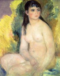 A. Renoir, Sitzender weiblicher Akt